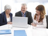 Executive business team — Stockfoto