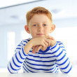 Stock Photo: Portrait of a boy