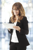 Modern Professional Businesswoman — Stock Photo