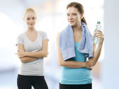 At the Health Club — Stock Photo