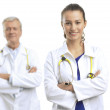 Two doctors — Stock Photo #23921127