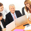 Stockfoto: Business discussing in meeting