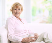 Senior Woman — Stock Photo