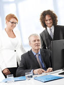 Executive Business Team — Stock Photo