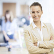 Smiling professional businesswoman — Stock Photo #28124671