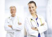 Médicos — Foto Stock