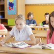 Children are sitting in the classroom — Stock Photo #31457307