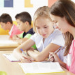Children are sitting in the classroom — Stock Photo #31457315