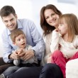 Stock Photo: Happy Young Family