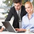 Couple with Laptop — Stock Photo #38842327