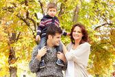 Family having fun — Stock Photo