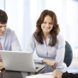 Business people working in group — Stock Photo #39088213
