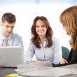 Business people working in group — Stock Photo #39088297