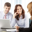 Business people working in group — Stock Photo #39088321