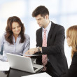 Business people working in group — Stock Photo #39088353