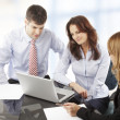 Business people working in group — Stock Photo #39088357
