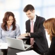Business people working in group — Stock Photo #39088377