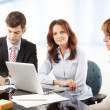 Business people working in group — Stock Photo #39088411