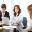 Business people working in group — Stock Photo #39088421