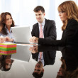 Business people working in group — Stock Photo #39088429