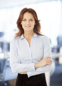 Modern Businesswoman Portrait — Foto Stock
