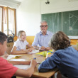 Stock Photo: Teacher In Classroom