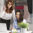 Two businesswoman meeting in office — Stock Photo #40062721