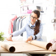 Young fashion designer portrait — Stock Photo