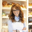 Bakery owner woman — Stock Photo #41396533