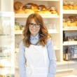 Stock Photo: Business bakery shop owner