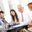 Business people discussing at meeting — Stock Photo #47025535