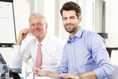 Business people discussing in a meeting — Stock Photo