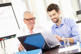 Business people working — Stock Photo