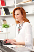 Beautiful executive businesswoman — Stock Photo