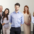 Happy business people group — Stock Photo #48729875
