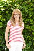 Beautiful middle age woman — Stock Photo