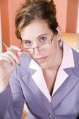 Portrait of a business woman — Stock Photo