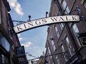 Králové chodí nottingham — Stock fotografie