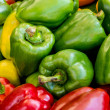 Mixed peppers background — Stock Photo #24929987