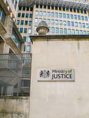 Ministry of justice — Stock Photo