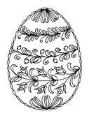 Velikonoce, vejce — Stock vektor