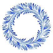 Floral circle — Stock Vector