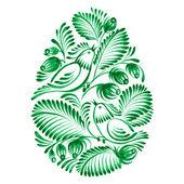Floral decorative ornament — Stock Vector