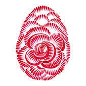 Kwiatowy ornament ozdobny — Wektor stockowy