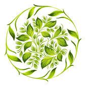 Dekoratif süs daire — Stok Vektör