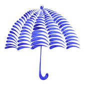 Decorative ornament umbrella — Stock Vector