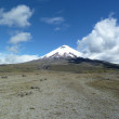 Volcano Cotopaxi, Ecuador — Stock Photo