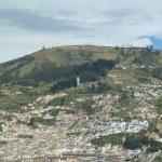 Panoramic view of Quito, Ecuador — Stock Photo #24020467