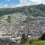 Panoramic view of Quito, Ecuador — Stock Photo #24021681