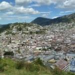 Panoramic view of Quito, Ecuador — Stock Photo #24021989